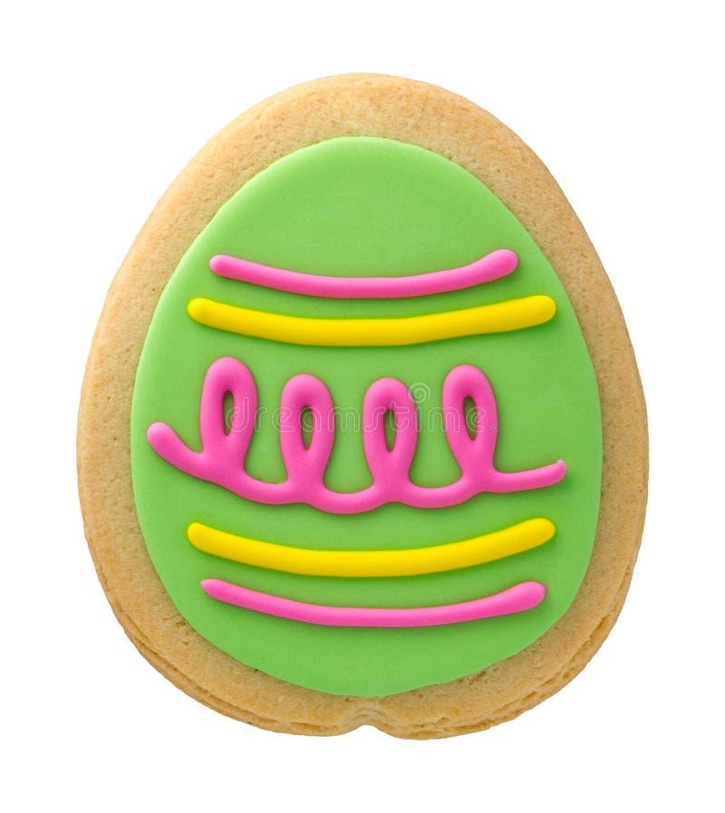 Cookie do ovo da páscoa fotos de stock royalty free
