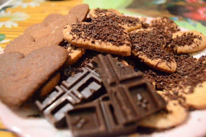 Cookie do pão-de-espécie fotos de stock