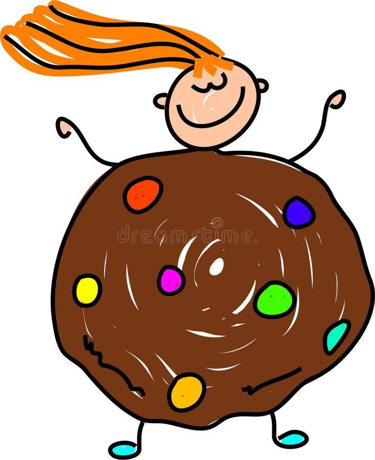cookie dzieciaku royalty ilustracja