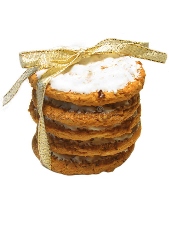 Download Cookie Gift stock photo. Image of sweet, treat, baked, oatmeal - 232628