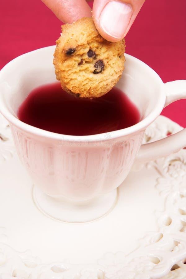 cookie herbaty. zdjęcie royalty free