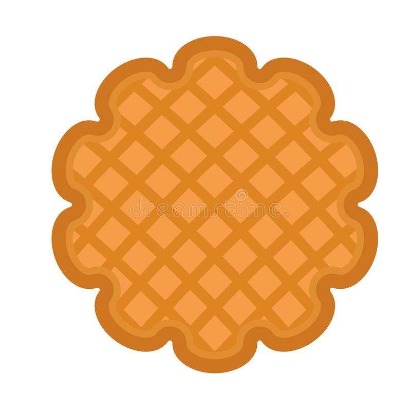 Cookie icon, flat style. Cookie icon. Flat illustration of cookie vector icon for web design vector illustration