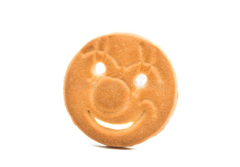 Cookie isolated royalty free stock photos