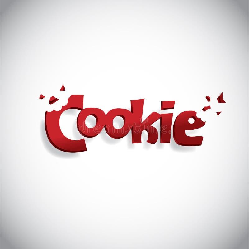 Cookie Logo Design ilustração royalty free