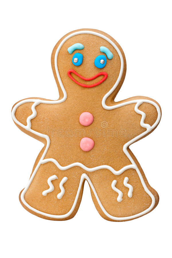 Download Cookie man stock photo. Image of ginger, smile, traditional - 34218370