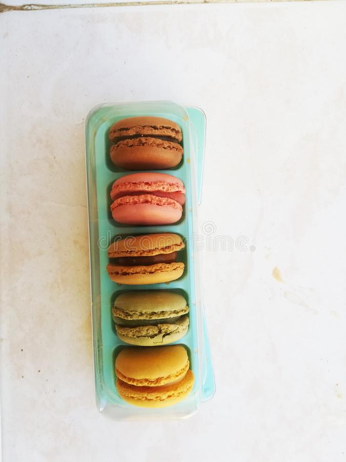 Cookie pastels. Colors, food, soft stock photos
