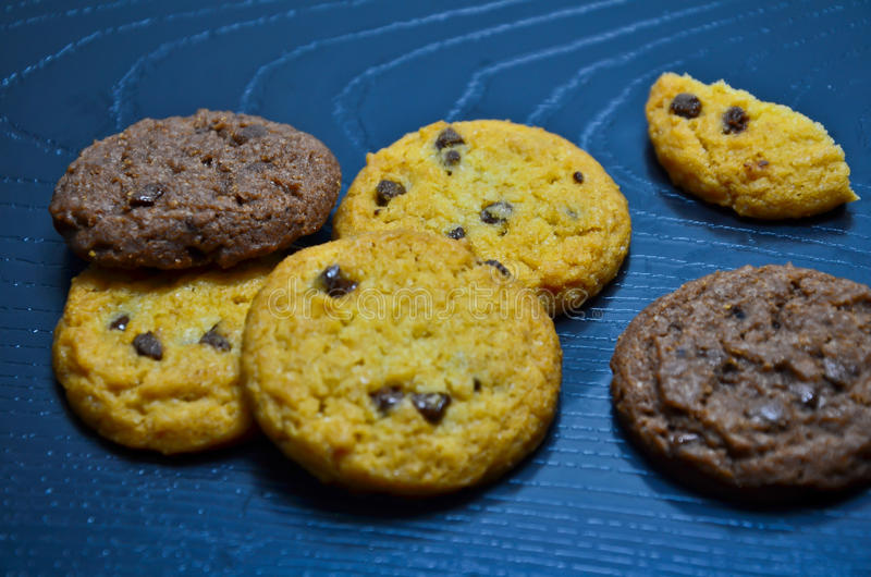 Download Cookie stock image. Image of crumbs, chip, delicious - 83701929