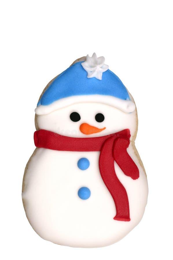 Cookie - Snowman Royalty Free Stock Photos