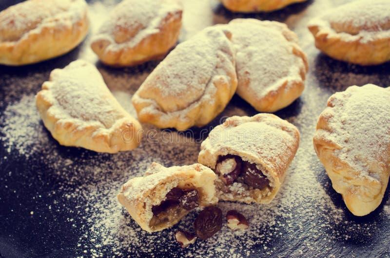 Cookies árabes tradicionais imagens de stock royalty free