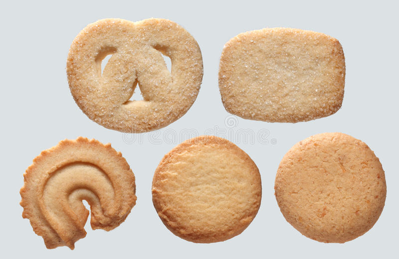 Cookies. Grab Some Assorted Danish Cookies stock photo
