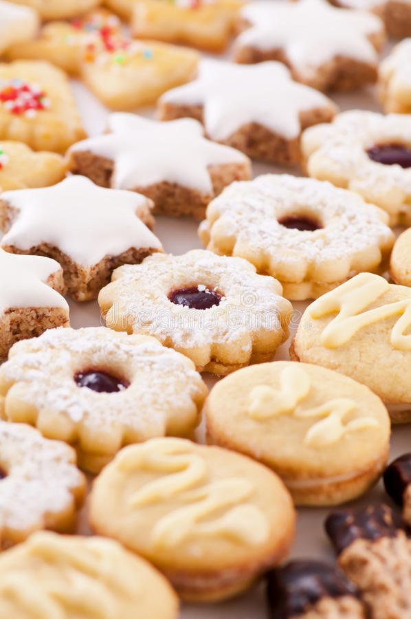 Download Cookies stock image. Image of comfit, background, cracker - 25591193