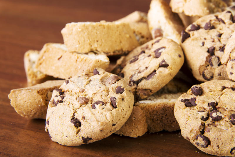 Download Cookies stock image. Image of closeup, biscuits, dessert - 29265743