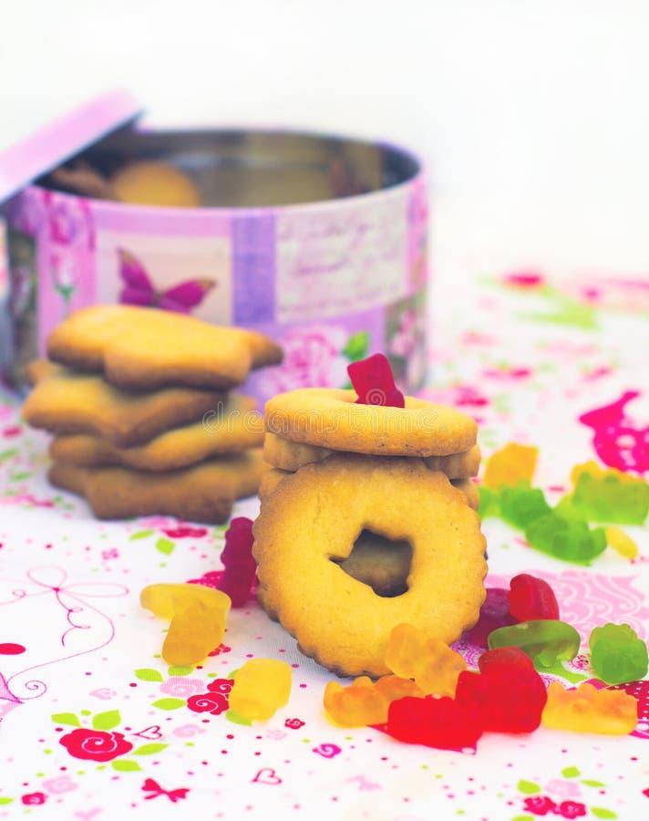 Download Cookies foto de archivo. Imagen de botella, galletas - 41918438