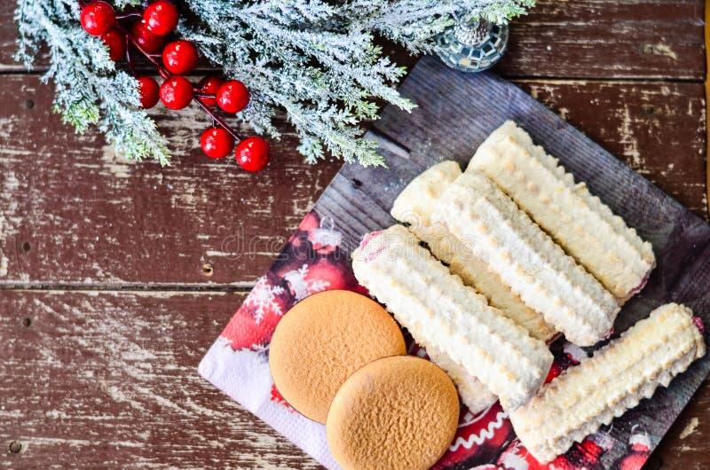 Cookies royalty-vrije stock afbeelding