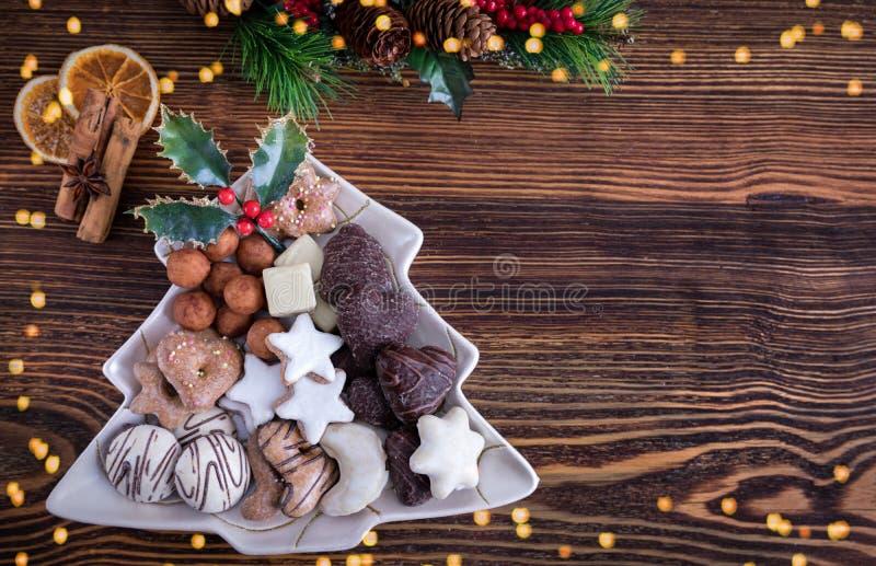 Cookies alemãs do Natal para o Natal fotos de stock royalty free