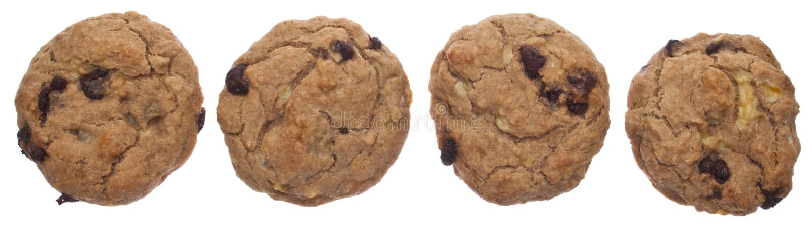 Cookies All in a Row royalty free stock photos