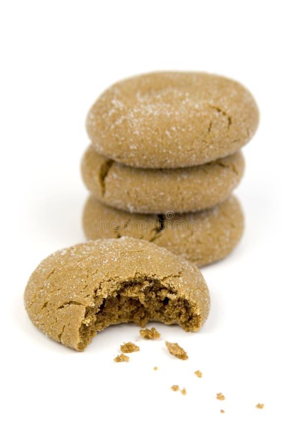 Cookies Bite stock image
