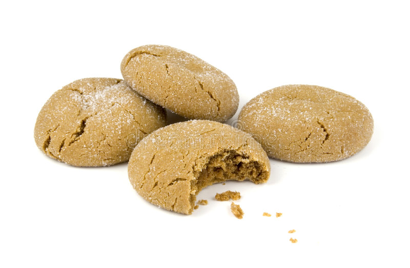 Cookies Bite royalty free stock photos