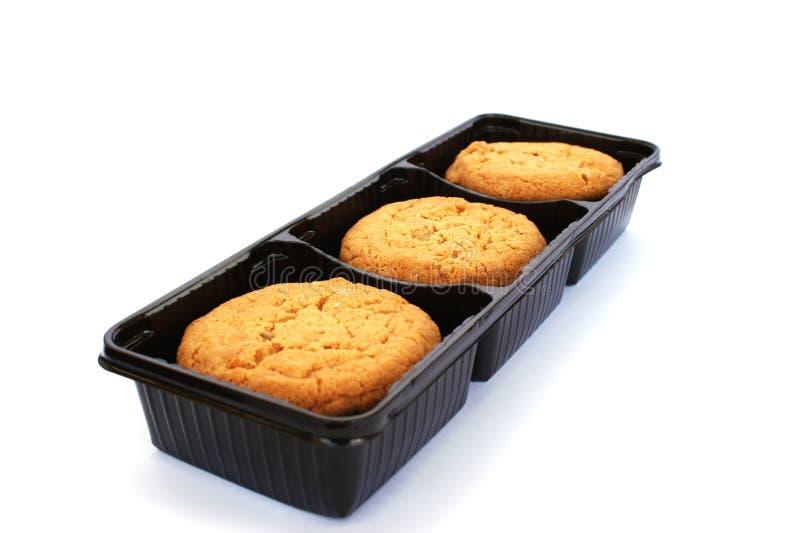 Cookies in box stock photos
