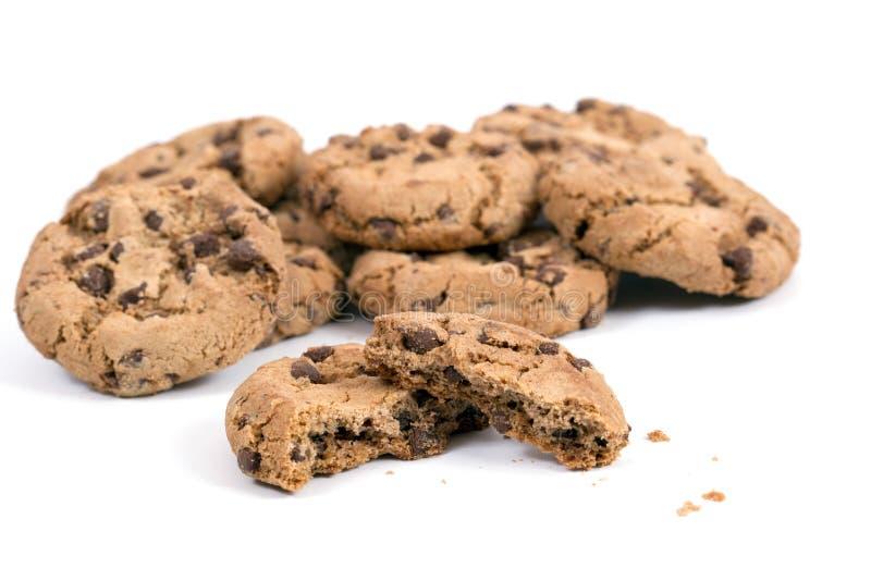 Cookies caseiros fotos de stock royalty free
