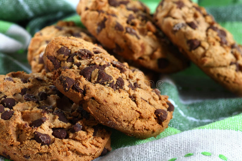 Download Cookies With Chocolate Pieces Stock Photo - Image: 28016648