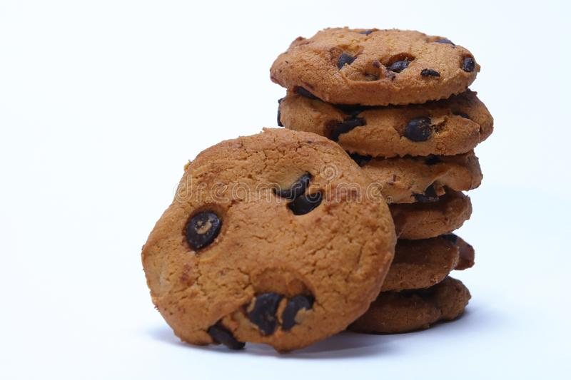 Cookies cocochips stock photography