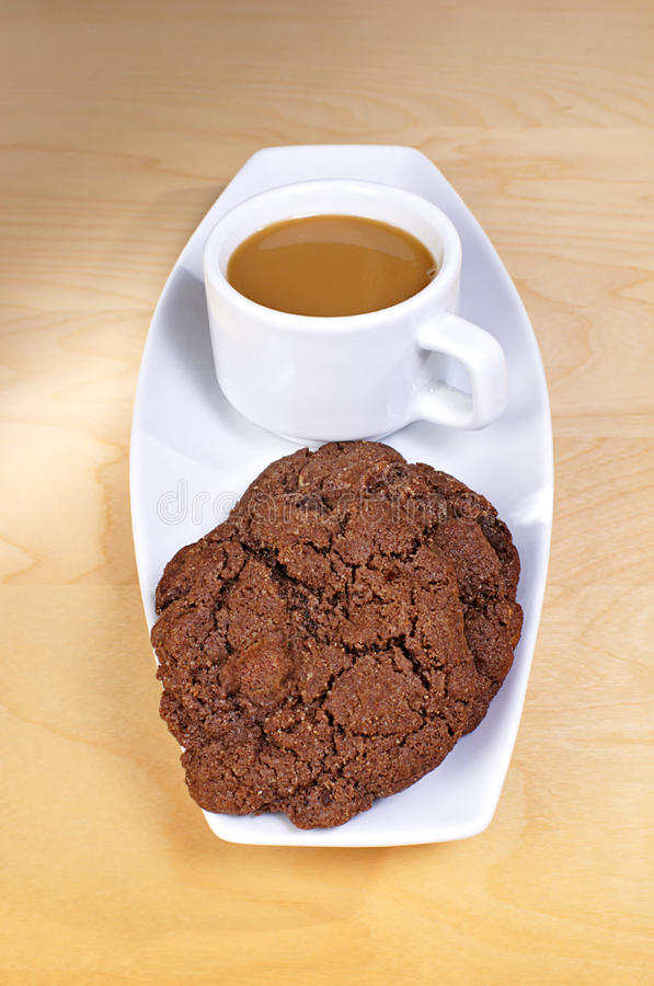 Download Cookies And Coffee Royalty Free Stock Photo - Image: 12089735