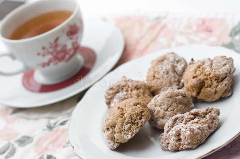 Cookies and a cup of tea