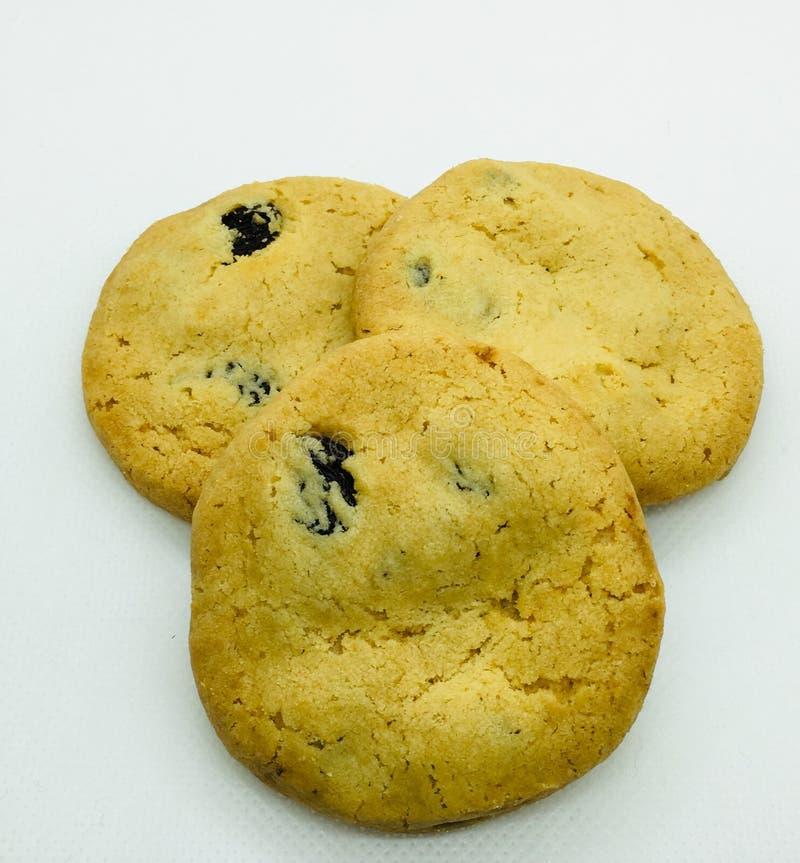 Cookies da microplaqueta foto de stock royalty free