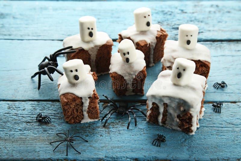 Cookies de Dia das Bruxas imagens de stock