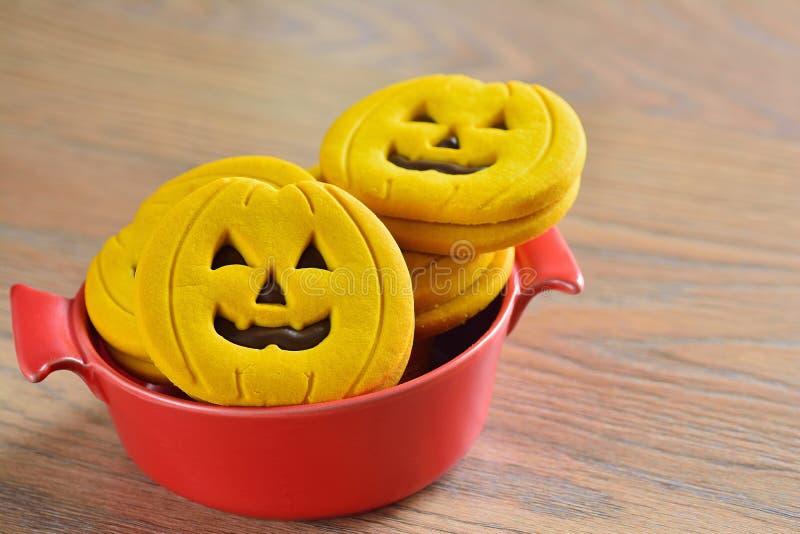 Cookies de Dia das Bruxas fotografia de stock royalty free