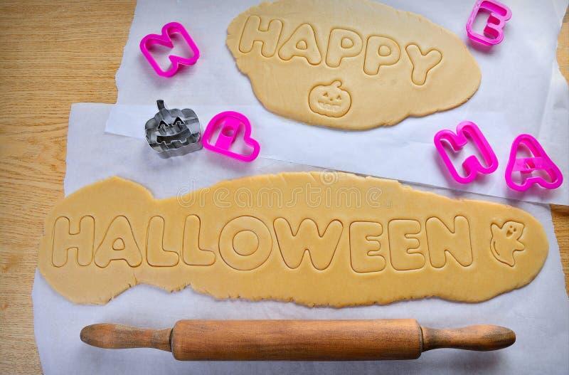 Cookies de Dia das Bruxas imagens de stock royalty free