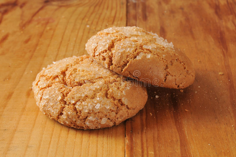 Cookies de melaço fotos de stock