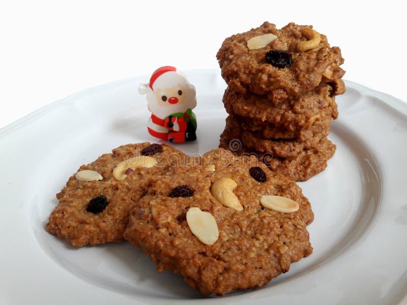 Cookies de Multigrain fotografia de stock