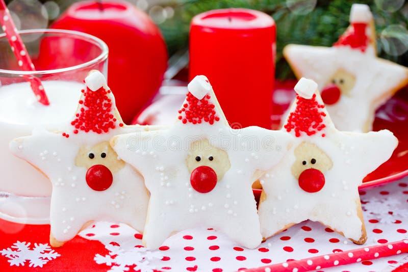 Download Cookies De Santa Claus Christmas Foto de Stock - Imagem de creativo, bolinho: 80100338