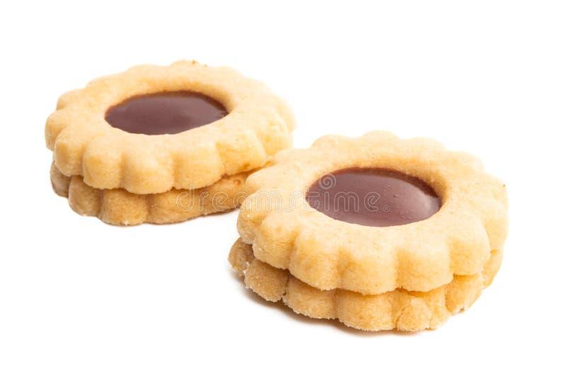 cookies deliciosas suíças imagem de stock royalty free
