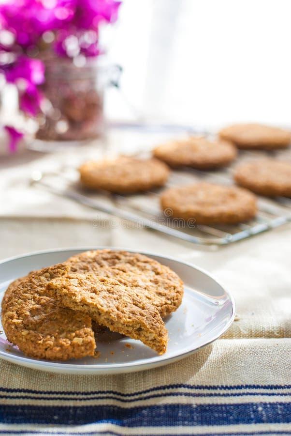 Cookies digestivas fotos de stock royalty free