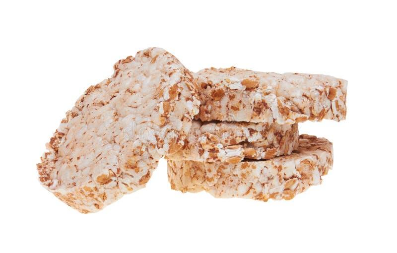 Cookies do arroz fotografia de stock royalty free