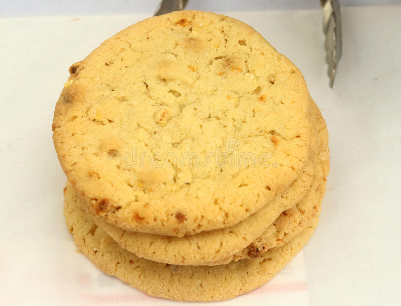 Cookies do milho doce fotografia de stock