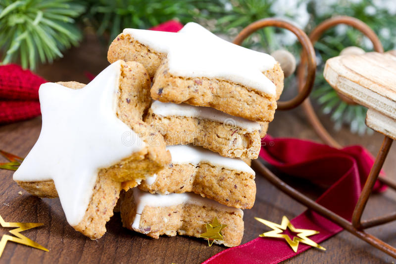 Cookies do Xmas imagem de stock