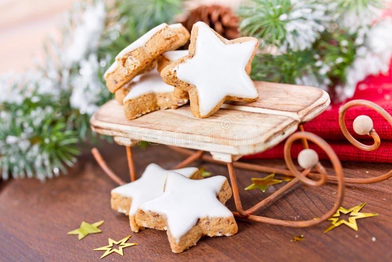 Cookies do Xmas foto de stock royalty free