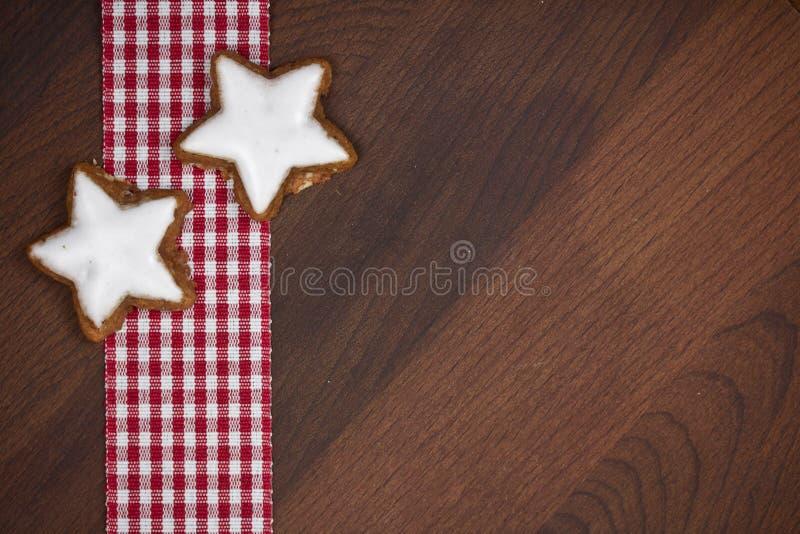 Cookies do Xmas fotografia de stock