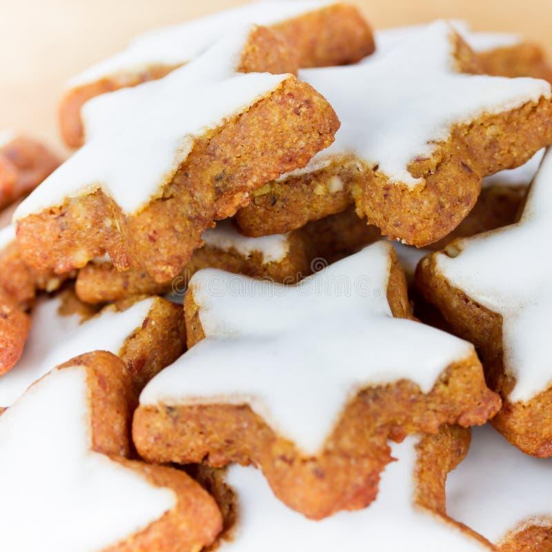 Cookies do Xmas imagens de stock royalty free