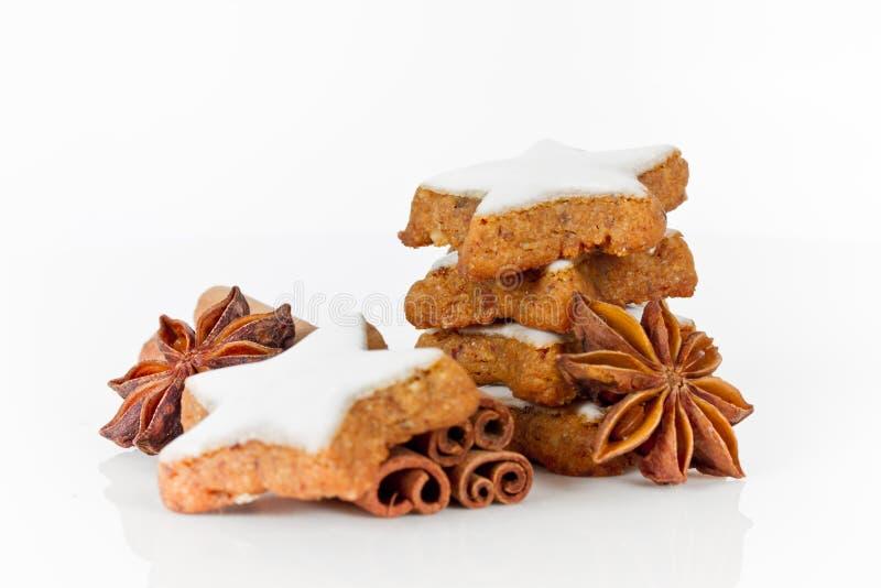 Cookies do Xmas fotos de stock