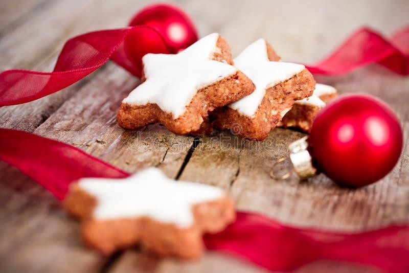 Cookies do Xmas foto de stock