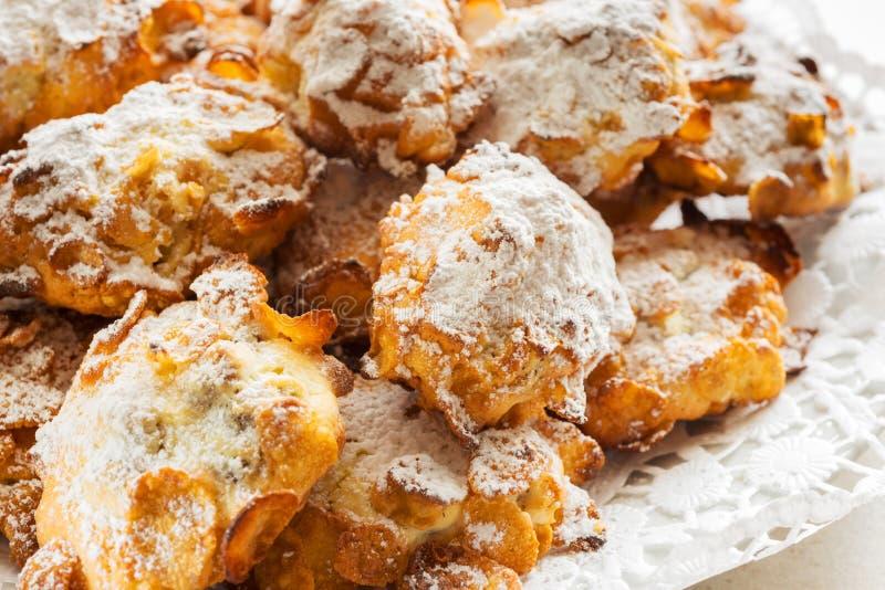 Cookies dos flocos de milho imagem de stock