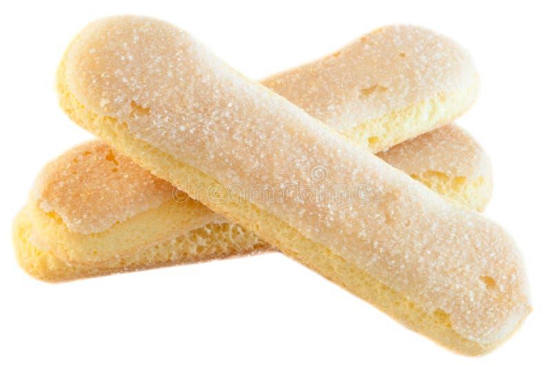Cookies dos Ladyfingers foto de stock royalty free