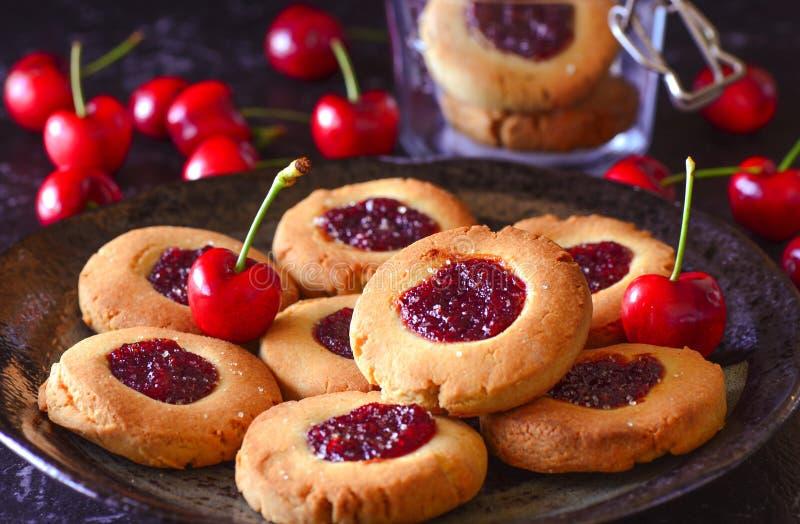 Cookies Eggless da gota do doce fotos de stock