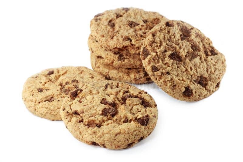 cookies isoladas, deliciosas fotografia de stock royalty free