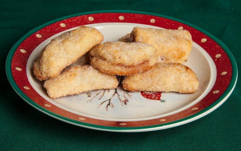 Cookies met frambozenjam royalty-vrije stock afbeeldingen